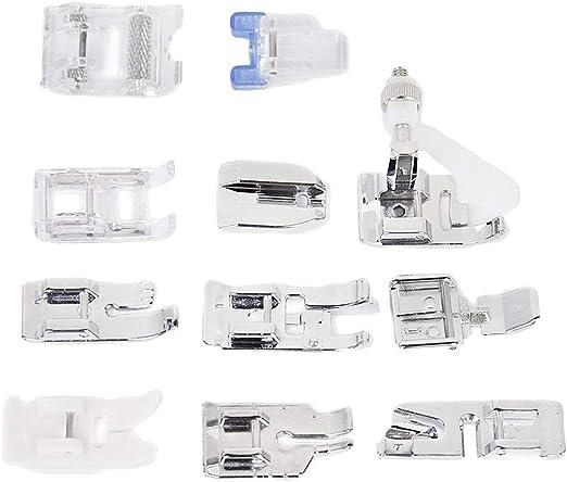 Noyokere Pies de prensatelas 11 Piezas, Kit de máquina de Coser Pies de prensatelas Accesorios: Amazon.es: Hogar