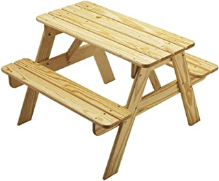 product image for Little Colorado Child's Picnic Table-Natural, beige