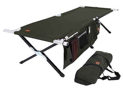 amazon com tough outdoors camp cot large with free organizer rh amazon com