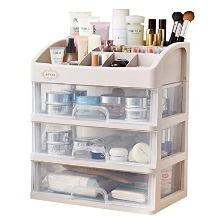 AEVEL Makeup Storage Box Cosmetic Organizer Multi,layer Drawer for Bathroom  Bedroom, Keeping Your Dressing Table More Tidy
