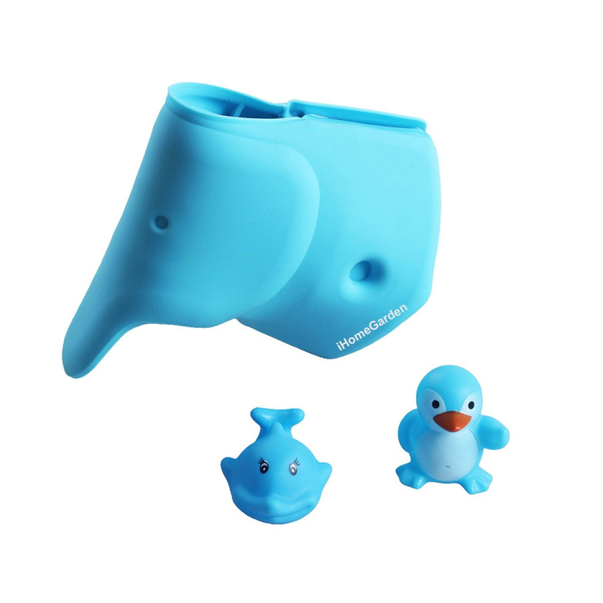 Baby Blue Bathroom Set: Tub Faucet Cover For Baby
