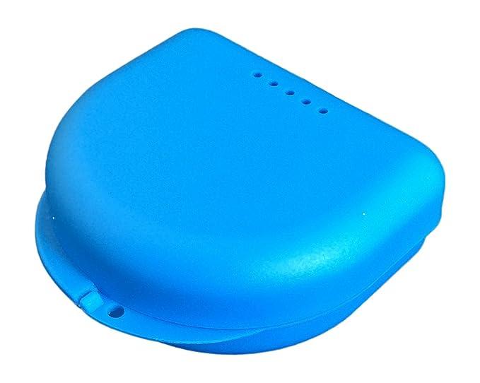 4 opinioni per Piccola scatolina per apparecchio dentale (blu traslucido)