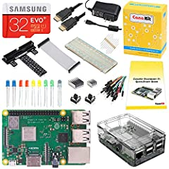 NOTE: The 32 GB MicroSD card may appear as 1 GB when inserted into a PC as it is pre-partitioned. The remaining space can be expanded as desired.The CanaKit Raspberry Pi 3 B+ (B Plus) Kit is covered by CanaKit's 1-Year Manufacturer Warranty o...