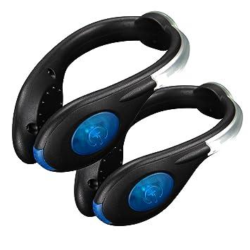 SUAVER Running LED Shoe Clip USB Batería Shoe Clip de seguridad ...