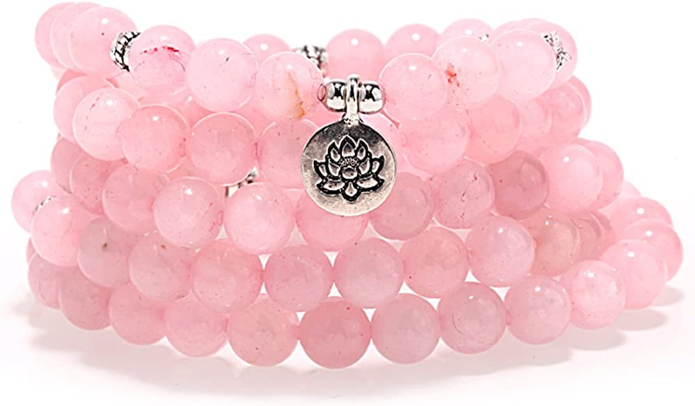 ZHEPIN 8MM 108 Mala Beads...