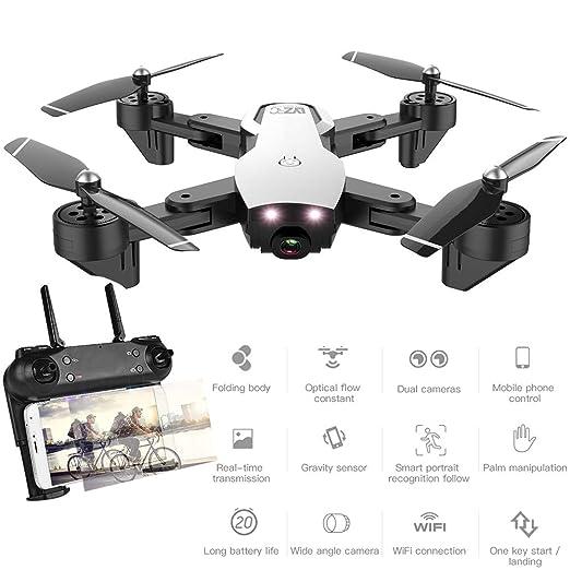 MBEN Drone y cámara, 1080P FPV WiFi de Gran Angular Doble cámara ...