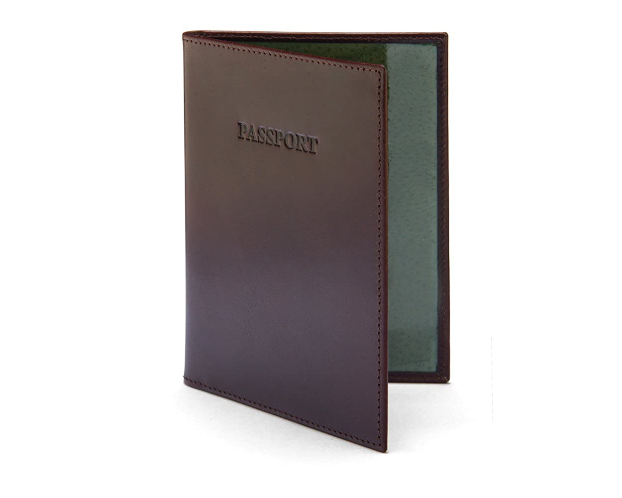SAGEBROWN Luxury Leather Passport Cover