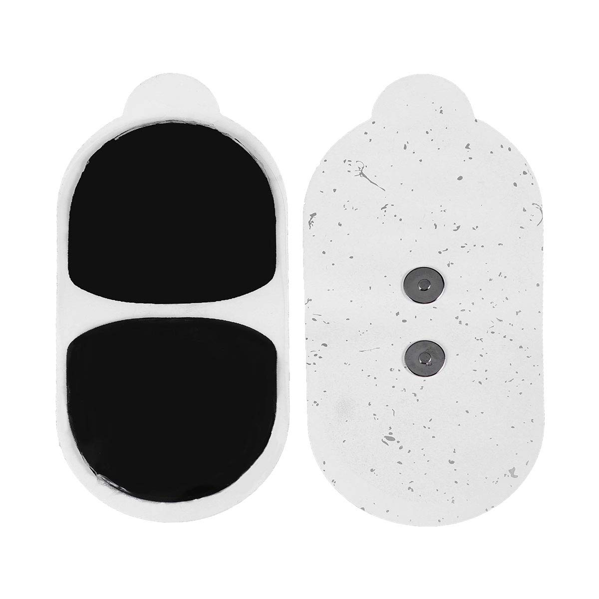 Healifty Pair of Tens Unit Electrodes Pads Replacement Pads Electrode Patches Therapy Sheet Universally Compatible with MOOYEE Relaxer M2/S1