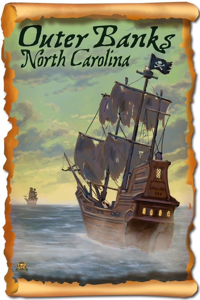 驚きの価格 Pirate LANT-42224-TT Ship 16 – Outer Banks , North Print Carolina Canvas Tote Bag LANT-42224-TT B07B2D9CH8 16 x 24 Signed Art Print 16 x 24 Signed Art Print, 壁紙&ウォールデコ 壁際貴族:b9589b05 --- catconnects-ie.access.secure-ssl-servers.org