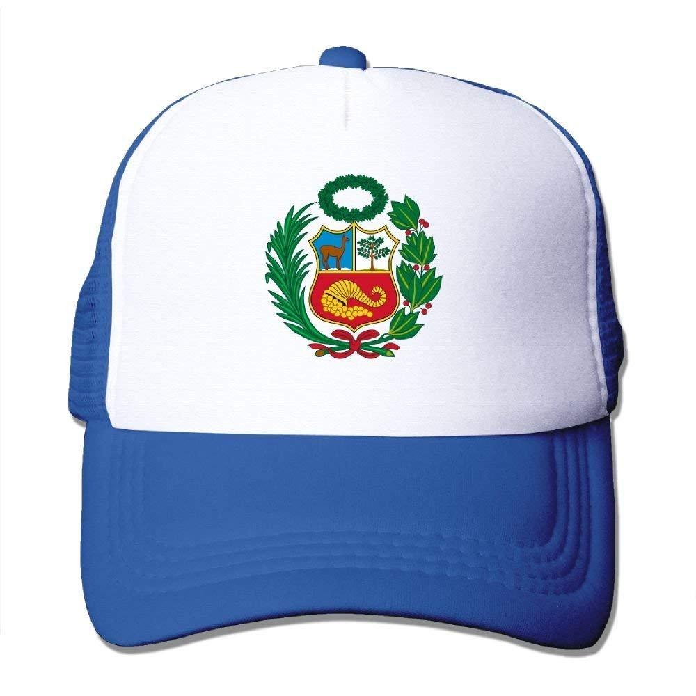 deyhfef Peru Mesh Trucker Gorras/Sombreros Ajustables para Unisex ...