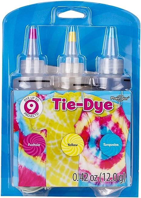 Kit de tinte tie-dye para algodón y lino de 3 colores N.º 7