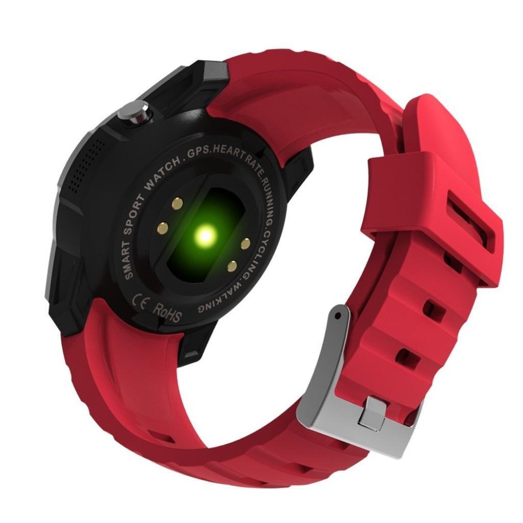 Momola S958 Hombres de Bluetooth reloj inteligente apoyo gps, presión de aire, llamada, Ritmo cardíaco, reloj deportivo: Amazon.es: Electrónica