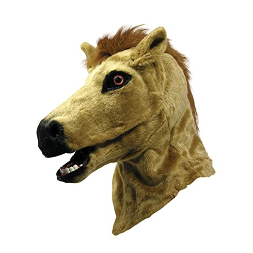 Forum Novelties Horse Mask with Moving Mouth, One Size