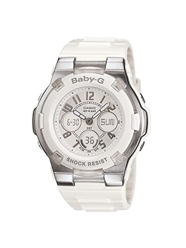 c98e6685c5c6a Amazon.com  Casio Women s BGA110-7B Baby-G Shock-Resistant White ...