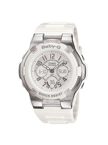 f9a0ac0699170 Casio Ladies Quartz Rubber watch  BGA110-7BCR  Casio  Amazon.ca  Watches