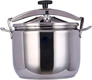 Stainless Steel Sealed Pressure Cooker, Explosion-proof Pressure Cooker, 15L-40L Commercial Large Capacity Electric Pressure Cooker, Induction Cooker Gas Stove Universal For Outdoor Cooking/Hotel/Res