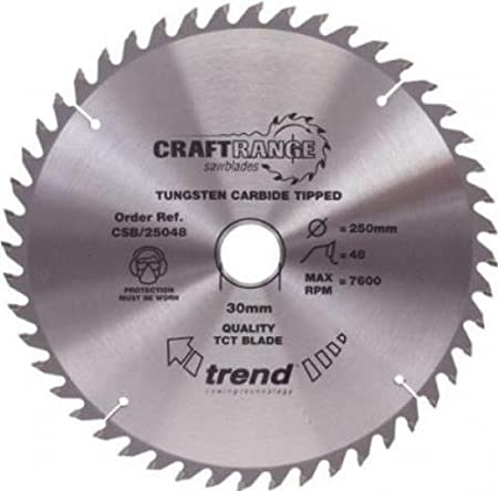 Trend CSB//21560 craft saw blade 215mm x 60T x 30mm