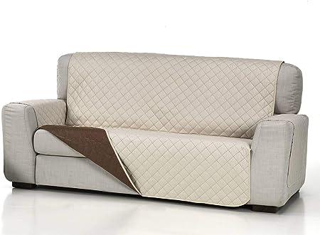 Lanovenanube Belmarti - Funda sofá Acolchado - Práctica - 3 plazas - Color Beig C02: Amazon.es: Hogar