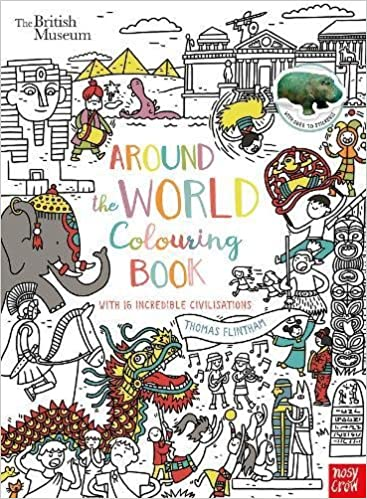 British Museum: Around the World Colouring Book (Colouring Books ...