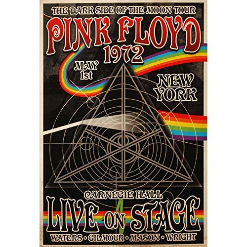 Pink Floyd - Dark Side of the Moon Tour Poster - 24x36 by Aq