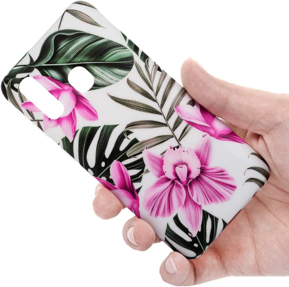 VoguSaNa Kompatible f/ür Handyh/ülle Samsung Galaxy A40 H/ülle Marmor Silikon Matt Marble Muster Case Cover Weiche Tasche D/ünn Schutzh/ülle Handytasche Skin Softcase Schale Bumper TPU Handycover Etui-S3