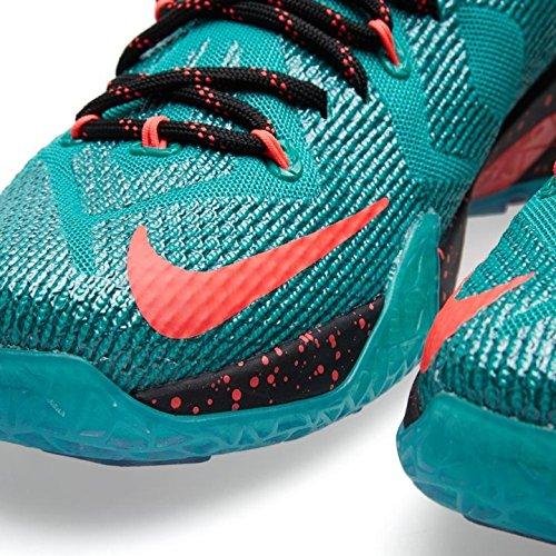 Nike Lebron Xii Menns Basketball Sko Emrld Grønn, Hypr Pnch-dk Emrld