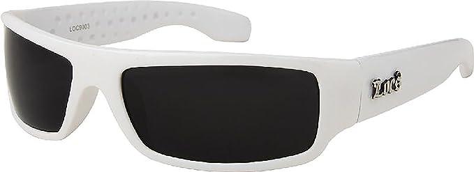 Amazon.com: White Frame LOCS Hardcore Sunglasses: Sports & Outdoors