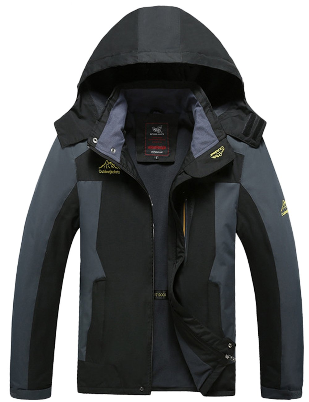 Menschwear OUTERWEAR メンズ B076JHZDHG S|Black 8828 Black 8828 S