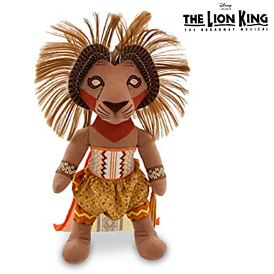 The Lion King Disney Broadway Stuffed Simba: Toys & Games