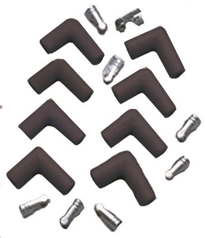 Taylor 46001 Black 90/° Spark Plug Boot and Terminal Kit