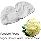 SK 3D Peony Sugar Petal Veiner Gumpaste Molds Candy Molds Baking Cookie Moulds Soap Decorating Molds