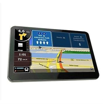 Yatek Navegador GPS de 7 Tactil con Bluetooth, Mapas Europa + Radares