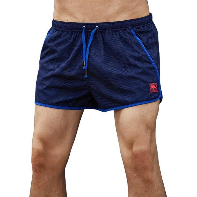 Bikini bandeau Pantalones cortos casuales de los hombres, YanHoo® Pantalones cortos de traje de baño transpirable para hombre Pantalones cortos de traje de ...