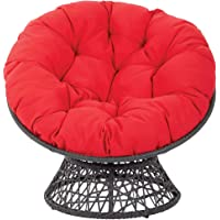 Garden Round Papasan Chair Cushion Washable Hammocks Swing Pad Soft Thicken Seat Pillow Indoor Outdoor Patio Yard Garden…