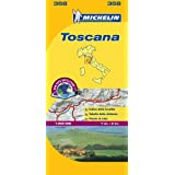Map of Tuscany (Michelin Local)