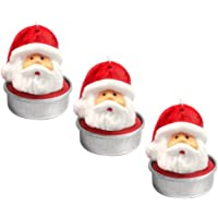 Gosear 3 Piezas Tealight Velas - Santa Claus