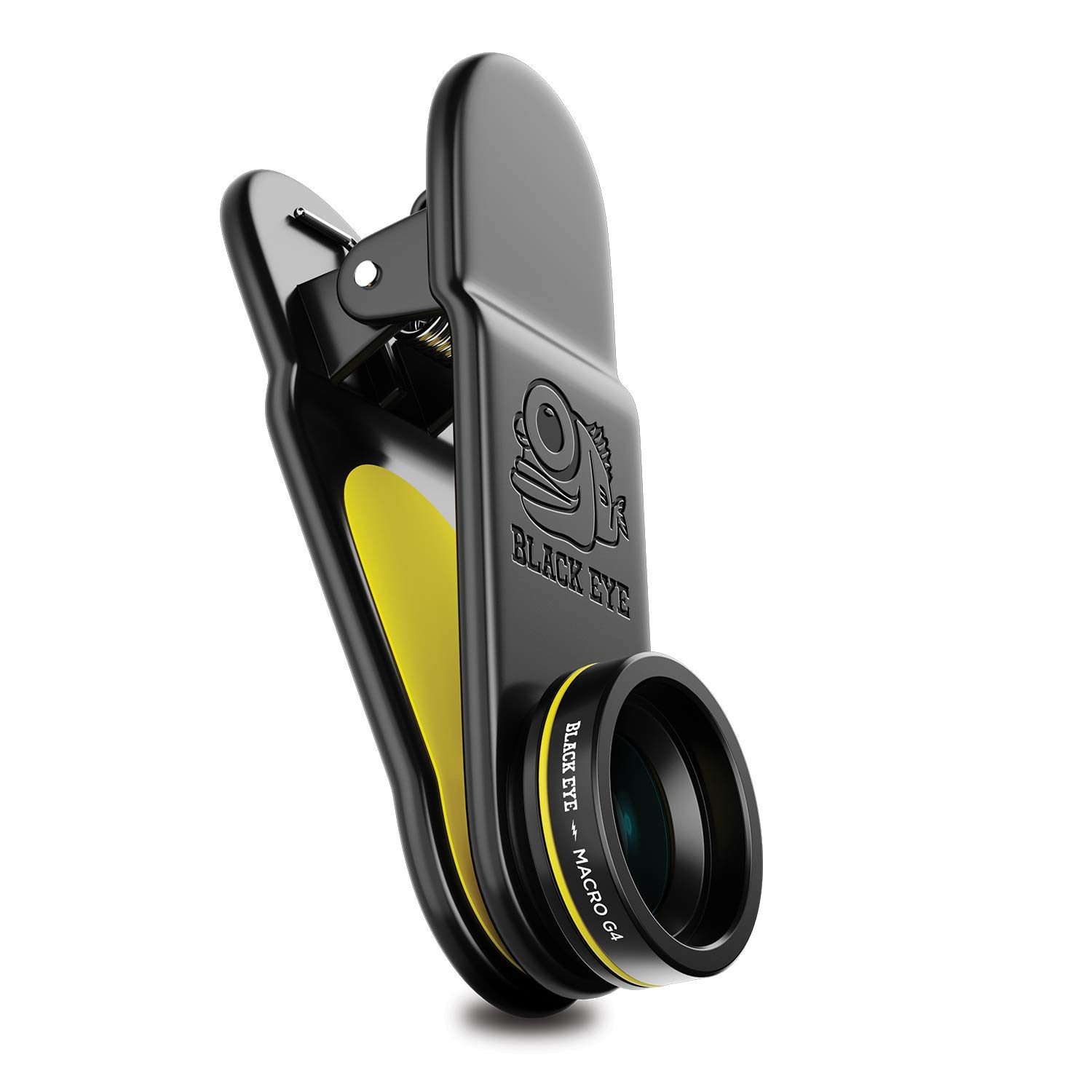 Phone Lenses by Black Eye || Macro G4 Clip-on Lens Compatible with iPhone, iPad, Samsung Galaxy, and All Camera Phone Models