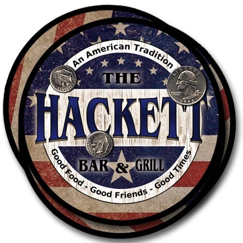 Hackett Family American Bar and Grill Neoprene Drink for sale  Delivered anywhere in USA