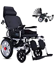 Foldable Power Compact Mobility Aid Wheel Chair,Lightweight Electric Wheelchair Portable Medical Scooter