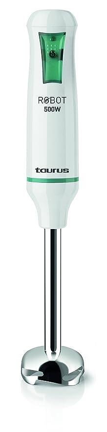 Taurus 916.342 Robot INOX-Batidora de Vaso (500 W, Cuchillas en Acero Inoxidable