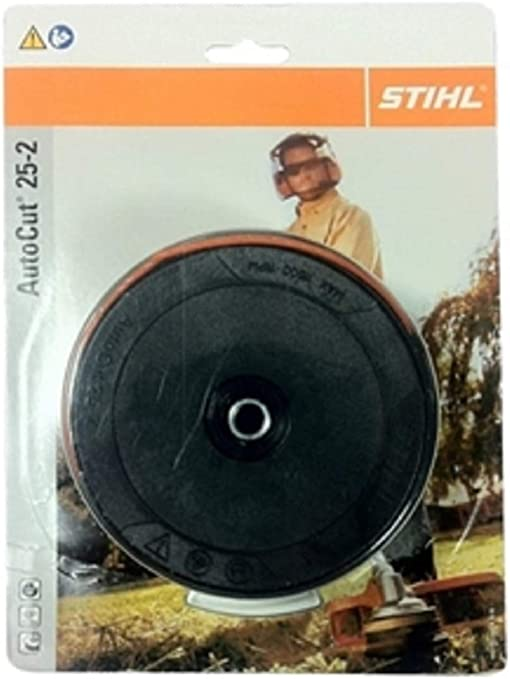 Auto Cut 25-2 Nylon Line Bump Feed Head For Brushcutter STIHL trimmer Black V3G4
