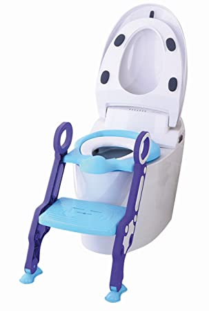 3 in 1 Toilettentrainer /& Treppe Kinder Kindertoilette WC Sitz Toilettensitz BS