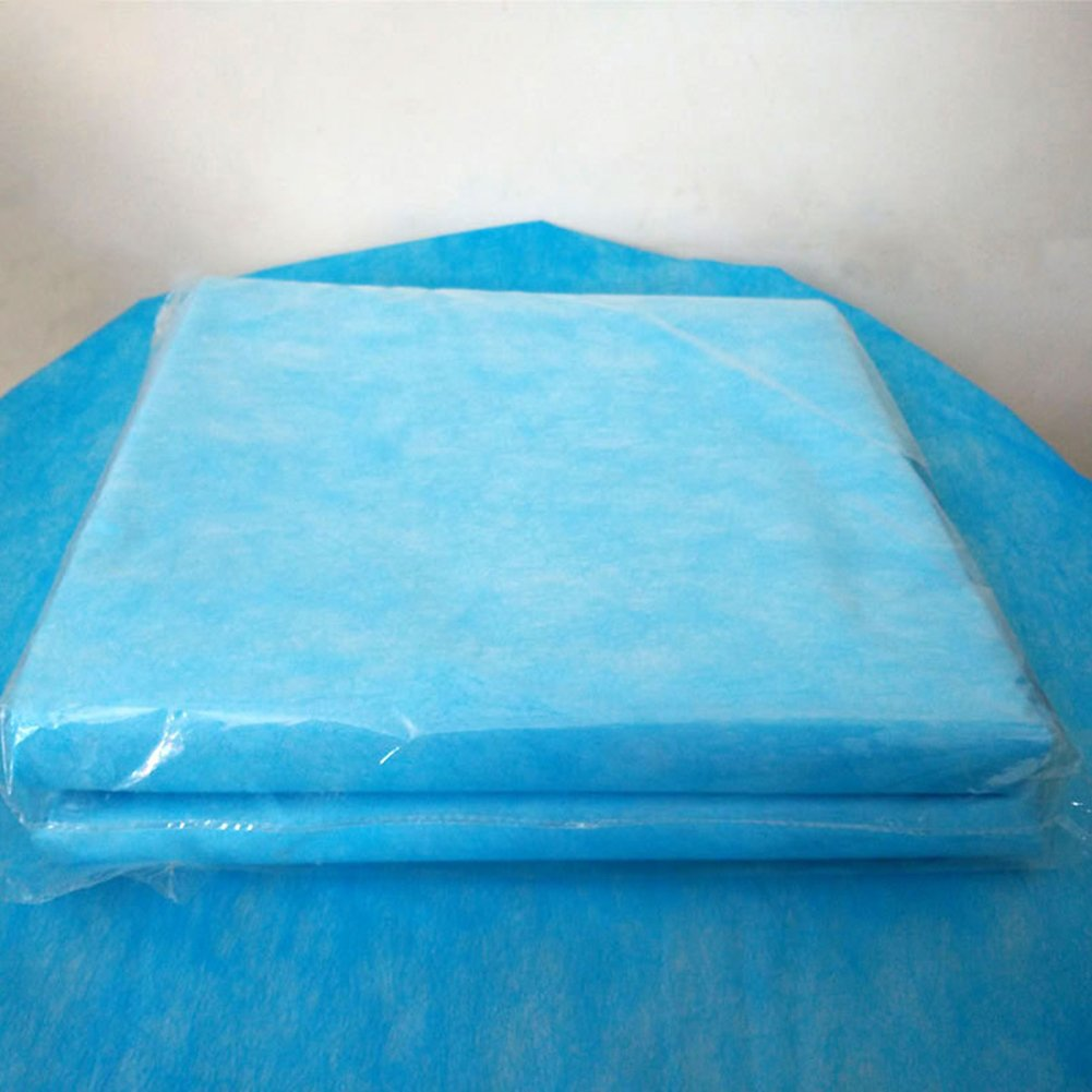 20Pcs Disposable Non-Woven Cleansing SPA Massage Bed Sheet Waterproof and Anti-Oil Table Bed Covers for Hospital Salon Hotel Travel, 29.568.9inch