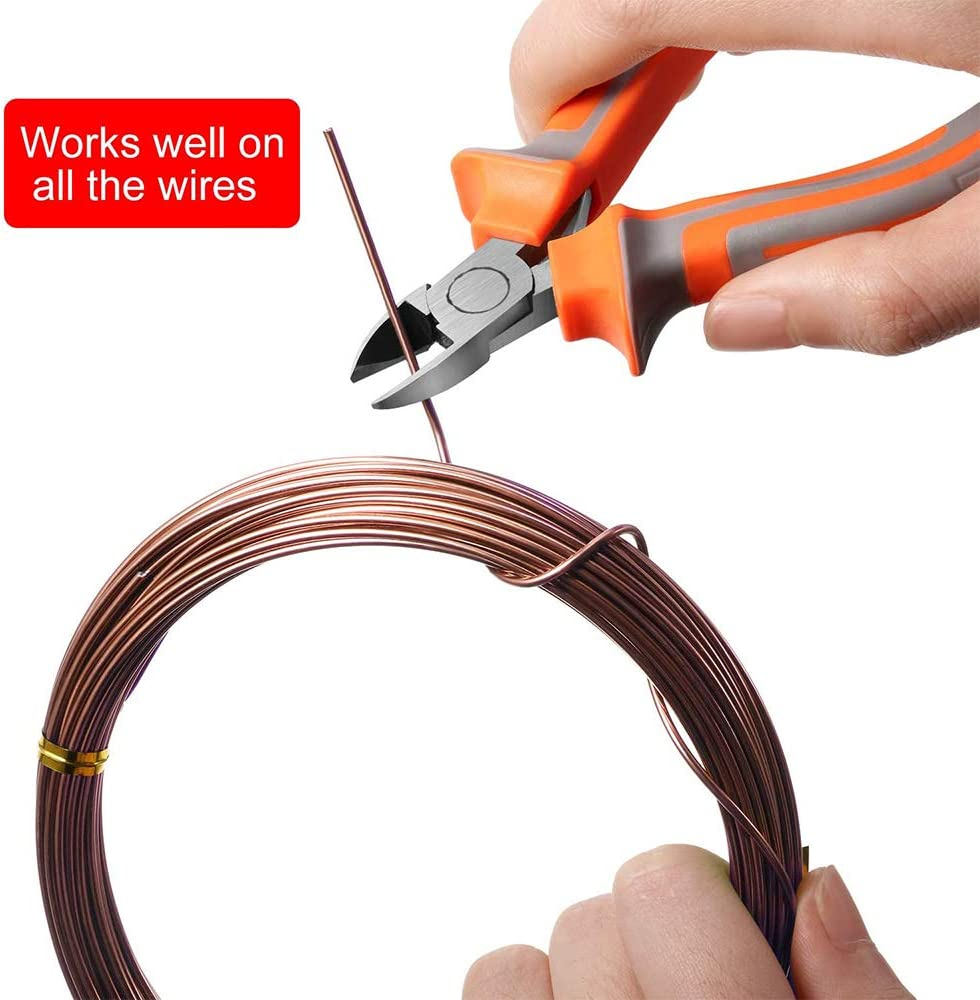 5pack Bonsai Wire Bonsai Tree Training Wires Anodized Aluminum Crafting DIY Wires Ties for Crafts Making,Size 1.0mm//1.5mm//2.0mm