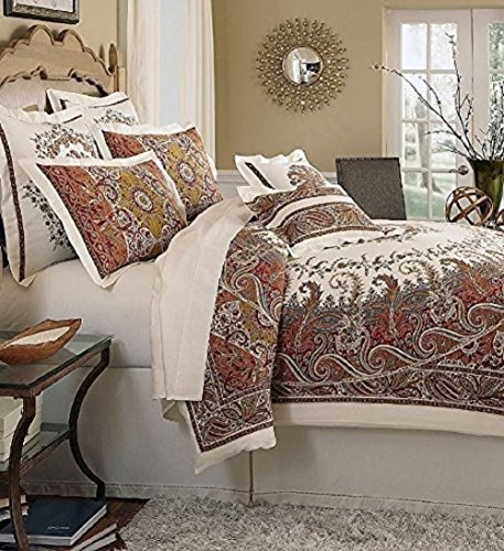 NOBLE EXCELLENCE Paisley SEROPHINA Duvet Covers -FULL / QUEEN