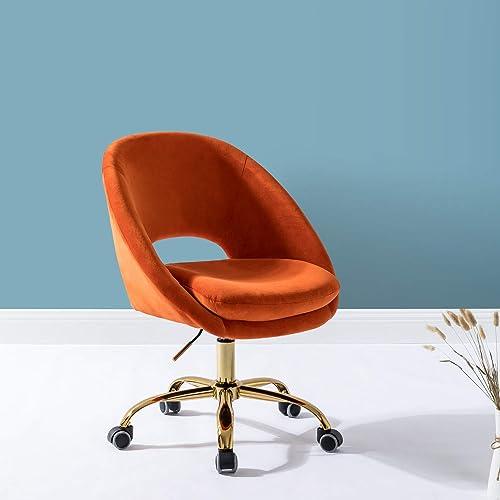 Office Chair Velvet Fabric Task Chair