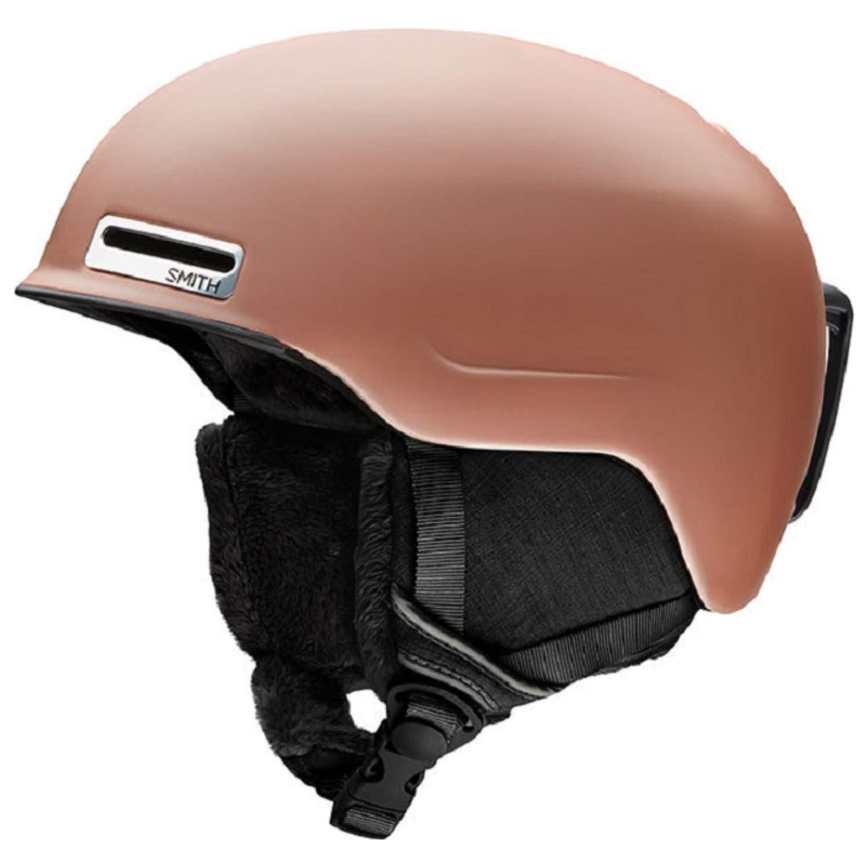 Smith Optics Allure Women's Ski Snowmobile Helmet - Matte Champagne/Small