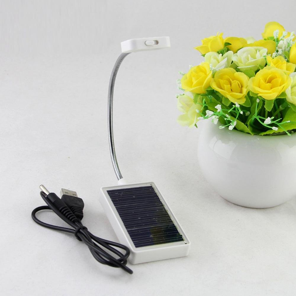 DMMSS Solar USB Rechargeable Clip Lights
