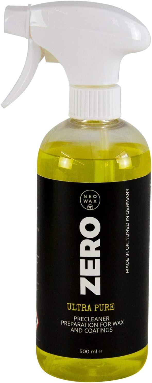 Neowax Zero Ultra Pure Precleaner Universalreiniger Universal Reiniger 500 Ml Drogerie Körperpflege