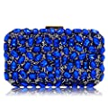 Women Handbags Lady Diamond Clutch Purse Chain Crossbody Evening Bag